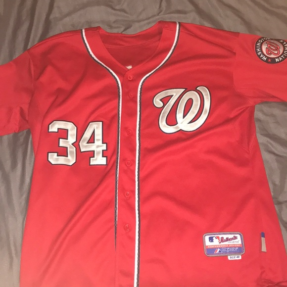 the latest 1c3ee 4371a Majestic Other | Washington Nationals Bryce Harper Jersey ...